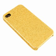 iPhone cover - guld glimmer