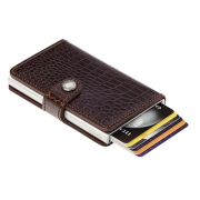 Miniwallet Secrid - Amazon brown