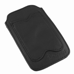 Konrad iPhone holder - sort l�der