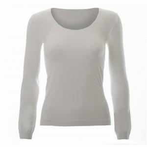 Microfiber trøje – hvid – pris 299.00