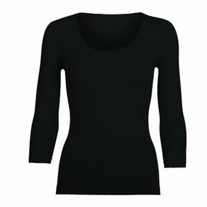 Sort trøje med 3/4 lange ærmer – pris 299.00