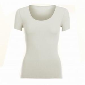 T-shirt med korte ærmer – ecru – pris 299.00