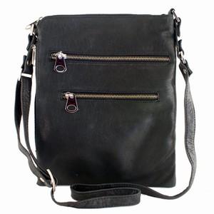 Sort lædertaske – Nova – pris 600.00