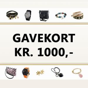 Gavekort 1.000 kr. – pris 1000.00