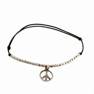 Image of   Armbånd med peace tegn