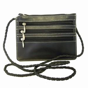 Sort læder taske – pris 259.00