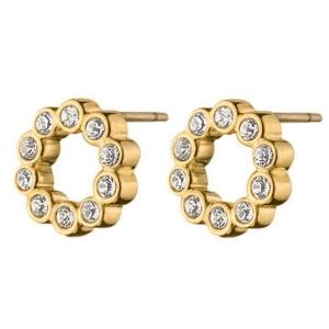 Sally forgyldte øreringe – Dyrberg-Kern – pris 155.00
