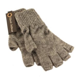 Vanter med halve fingre – grå – pris 200.00