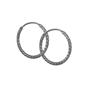Creoler oxideret sølv – small – pris 229.00