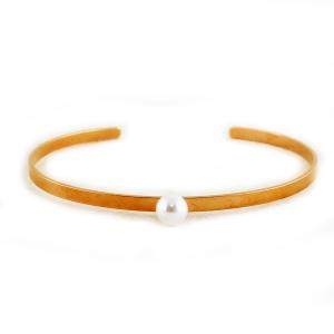 Halvbøjle armbånd – gylden – pris 159.00