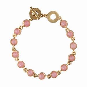 Smukt armbånd pink jade – pris 499.00
