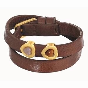 Læderarmbånd Sence Cph - brun