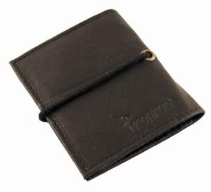 Herrepung i sort læder – pris 249.00