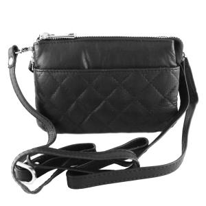 Minde taske i sort læder – pris 499.00