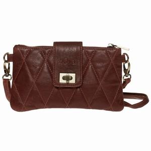 Læder taske/pung – henna – pris 399.00