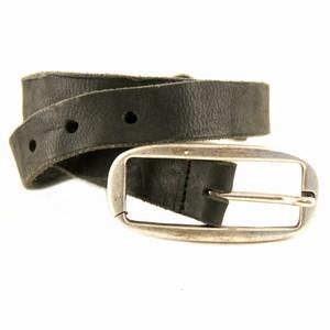 Læder bælte i slidt look – pris 239.00