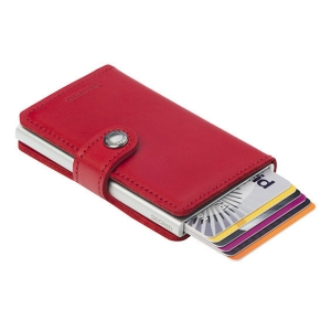 Secrid Miniwallet – lipstick red