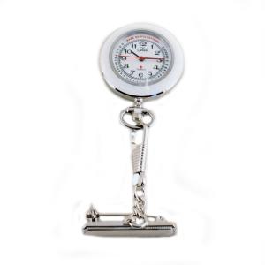 Sygeplejeske ur med hvid krans – pris 500.00