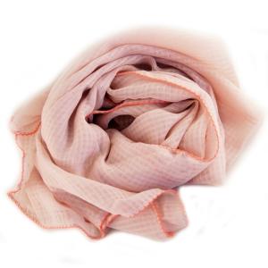 Pudderfarvet tørklæde – pris 159.00