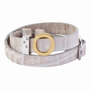 Lyst læderarmbånd – pris 299.00