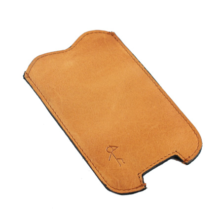 Konrad iPhone cover - brun