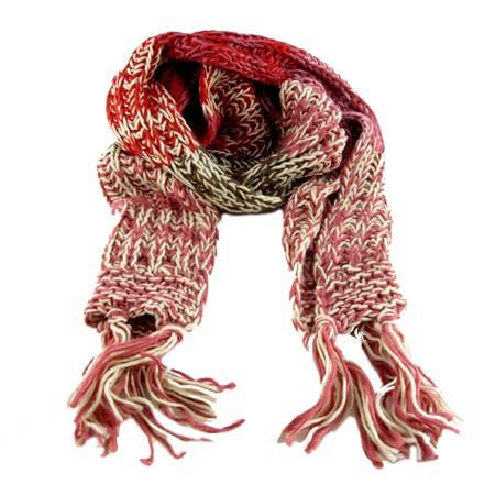 cebc8cc8cf0 Tyk halstørklæde - rød trik