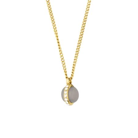 b55b8c8e Halskæde fra Dyrberg-Kern forgyldt halskæde med opal vedhæng